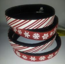 Beastie Band Cat Collars - =^..^= Purrfectly Comfy - Snowflakes or Candy Canes