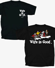 Wife is Good Snow mobiling - T-Shirt - Adult Sizes