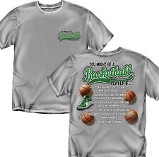 You might be a Basket Ball Player - T-Shirt-Youth Sizes