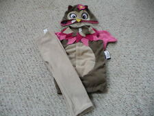 NEW Old Navy baby toddler girl Owl 3 pc Halloween Costume  6-12 12-18-24   NWT