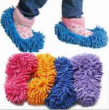 1Pcs Floor Dust Clean Shoes Mop House Clean Shoe Cover Multi function Slippers