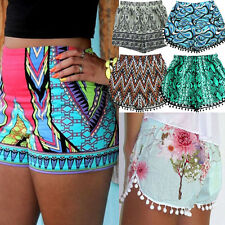Fashion Women Lady's Sexy Hot Pants Summer Casual Shorts High Waist Short Beach