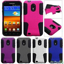 For SAMSUNG Galaxy S2/R760, Epic 4G Touch/D710 Astronoot Hybrid Case Cover