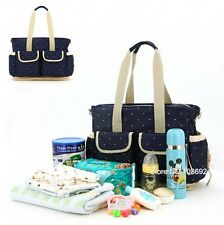 New Baby Diaper Nappy Changing Bag Tote Handbag shoulder bags Changing Organizer
