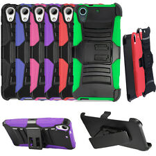 Phone Case For HTC Desire 626s, Desire 626 Holster Belt Clip Rugged Cover Stand