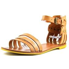 DV By Dolce Vita Daffodil Leather Gladiator Sandals Shoes