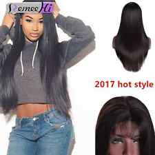 New Sweet Silky Straight 100% Indian Remy Human Hair Full / Front Lace Wig