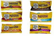 Nestle Toll House Chocolate Baking Chips Morsels - 4 Bags