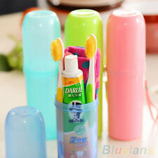 Wonderful Travel Camping Toothbrush Toothpaste Holder Cover Protect Case Box Cup