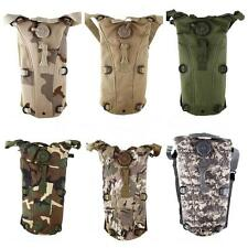 3L Water Bladder Bag BackPack Hydration System Camelbak Pack Hiking Camping Hot