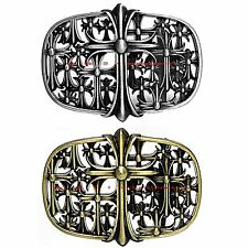 BBUM0033 RETRO MEDIEVAL HOLY IRON CELTIC TEMPLAR CROSS ALLOY METAL BELT BUCKLE