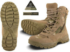 Mens Combat Military Army Camo Patrol Hiking Cadet Work Multicam Recon Boot 4-12