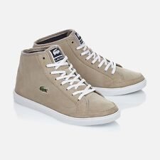 LACOSTE LADIES REAL LEATHER BOOTS SUEDE SNEAKER TRAINERS 726SPW103206A