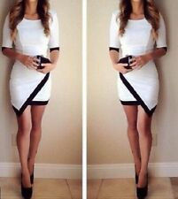 Women Lady Sexy Bandage Bodycon Evening Party Ball Cocktail Mini Short Dress R26