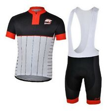 Fashion Cycling Outdoor Sports Jersey + Bib Shorts Quick Dry Breathable Clothing