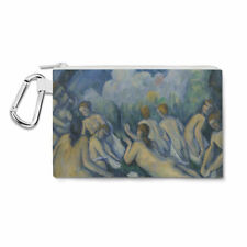 Cezanne Bathers Art Painting Canvas Zip Pouch - Pencil Case Multi Purpose Makeup