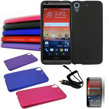 Phone Case For HTC Desire 626s 626 Hard Cover Car Charger Screen Protector