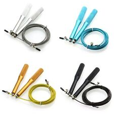 Metal Boxing/Gym/Jumping/Speed/Exercise/Fitness Jump Gym Skipping Rope New