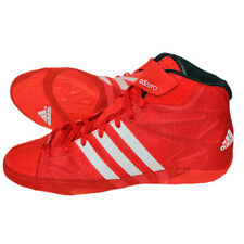 Adidas Adizero Wrestling Shoes Wrestling Shoes Rings Trainers Red Competition