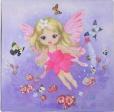 Pink Or Lilac Fairy Angel Canvas Print Girls Fantasy Enchanting Butterfly