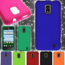 Hard Matte Rubberized Snap On Shell Phone Cover Ccase for ZTE Solar Z795G