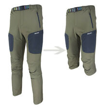 New Mens Casual Outdoor Cycling Quick Dry Shorts Long Trousers Pants + Belt Slim