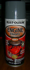 RUST-OLEUM ENGINE ENAMEL 248958 FORD GRAY CAR AUTO SPRAY PAINT NEW 12 OZ CAN