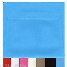 90mm Square Envelopes Small (20) Colours and Kraft Brown Quality 3.5 Inch Sq New