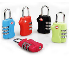 New  Security 3 Digit Travel Suitcase Luggage Bag Code Lock Padlock For TSA 338