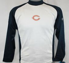 NEW Youth NFL Team Apparel Chicago BEARS White Blue Long Sleeve Onfield Shirt