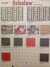 Coleslaw by Kaye England-Wilmington Prints Quilt Cotton Fabric By the Yard-Kit