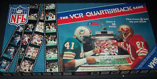 Vintage 1986 NFL VCR Quarterback Game by Interactive VCR Games Inc. Complete!