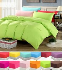 Soft Microfibre Sheet Set /Quilt Cover/ Fitted /Flat- King Single,Queen and King