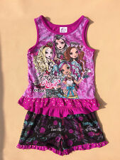 Girls Kid Monster High 6-16Y Sleepwear Nightwear Top Shirt+Pants Pajamas Outfits
