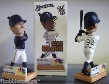 Ryan Braun Helena Brewers  WHITE JERSEY and BLUE JERSEY VARIANT Bobblehead SGA