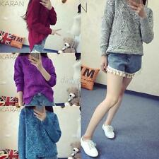 New Women Knitwear Sweater Outerwear Outfit Jumper Pullover Cardigan Coat Jacket