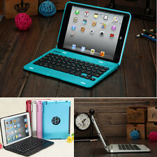 For iPad Mini 1 2 3 4 Wireless Bluetooth Keyboard Case Cover Rechargeable Case