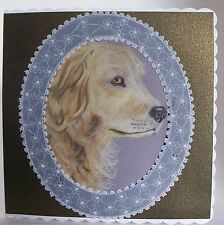 Hand Made Crafted Extra Large Parchment Craft Cards Any Occasion DOGS AND CATS