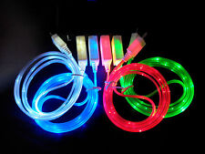 LED Micro USB Light Charger Data Sync Cable for HTC Android Phones