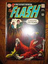 FLASH (1969) #186     REVERSE FLASH, RE-INTRO SARGON   VG/F   DC SILVER  CW SHOW
