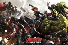 The Avengers Age Of Ultron Battle Poster 61x91.5cm