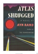 New Atlas Shrugged by Ayn Rand Poster