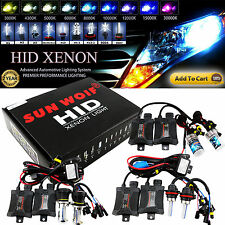 HID Light Xenon Conversion KIT Ballasts H1 H3 H4-3 H7 H11 HB4 880 9006 9004 9007
