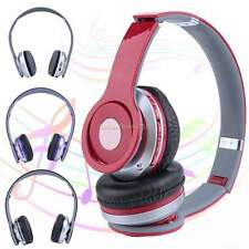 Wireless Stereo Bluetooth Headset Headphone Earphone +FM Radio for PC Phone B20E
