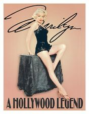New A Hollywood Legend Marilyn Monroe Metal Tin Sign