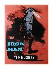 Ted Hughes The Iron Man Poster 59x84cm