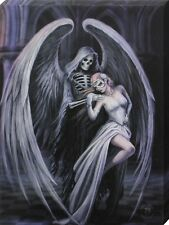 Anne Stokes Dance With Death Canvas Print 19x25cm