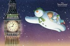 New The Snowman And The Snowdog Flying Over Big Ben Poster