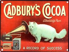 New A Record Of Success Cadbury's Cocoa Metal Tin Sign