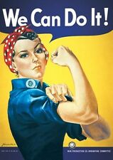 New We Can Do It Howard Miller Poster